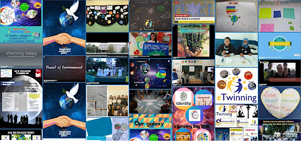 eTwinning Day 2019 collage