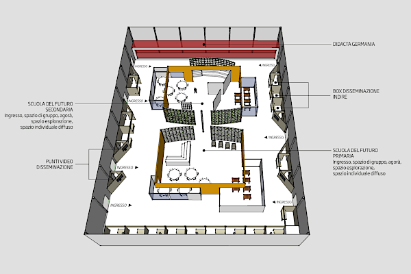 Future Learning Lab map
