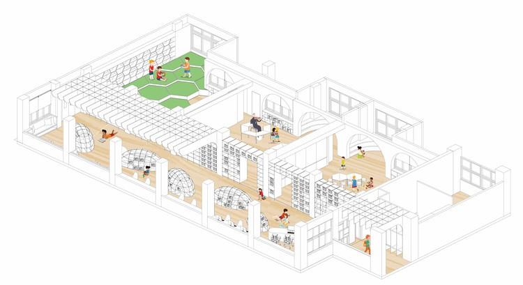 Lishin Elementary School Library