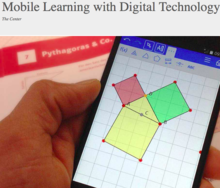 Center for Mobile Learning with Digital Technology